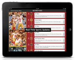 Beyond the Box 2.0: Real-time NFL photos and news