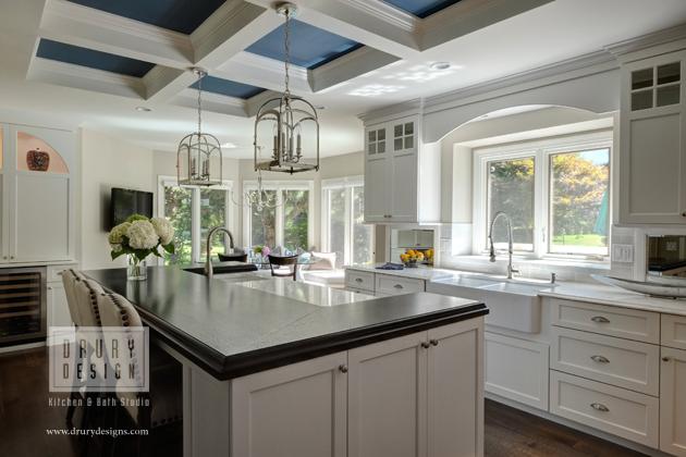 Drury design kitchen remodeling project featured in glen - Drury design kitchen bath studio ...