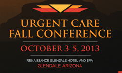 UCINet.org exhibit at Urgent Care Association of America Fall Conference