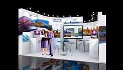 Exhibition stand hire at ISM exhibition, Cologne, 2014