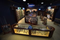 Shimano Technical Center at TackleDirect in Egg Harbor Twp, NJ