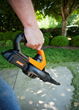 WORX 20V Blower/Sweeper quickly clears drives, walkways and patios