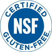 NSF Certified Gluten Free Mark