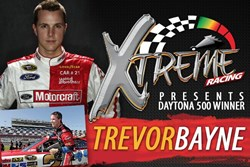 The new Pigeon For go kart attraction, Xtreme Racing Center, is celebrating it's grand opening with celebrity NASCAR driver Trevor Bayne.