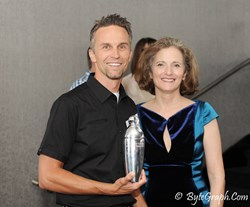 Social Shake-Up Award Ceremony - Dirk Shaw and Robin Carey