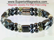 Superior Magnetics Announced a New Magnetic Bracelet with Gemstones...