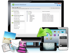 use iPhone data recovery software to get deleted or lost data back
