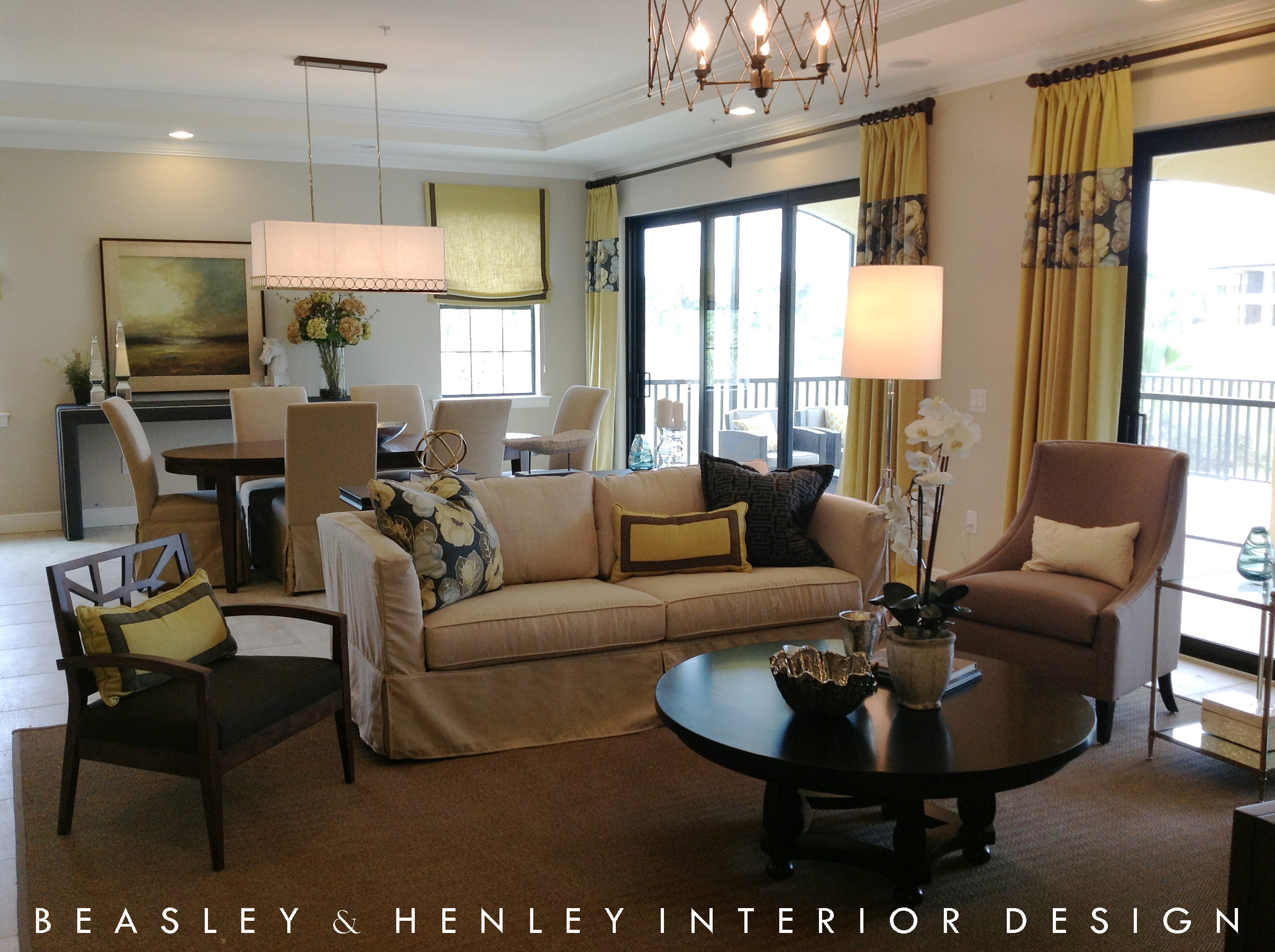 Beasley henley interior design wci communities install for Interior design room names