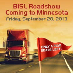 BiSL Announcement - September 20, 2013