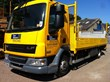 Yellow delivery Vehicle Four Seasons Fencing