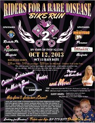 Riders For A Rare Disease Bike Run