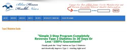 new diabetes treatment how blue heron guide to treat diabetes