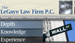 The LeGaye Law Firm Publishes New Article on Amendments to Financial...