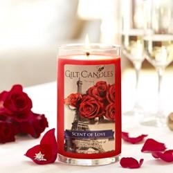 "ALT=""Scent of Love, Gilt Candles"""