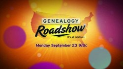 Cover page for PBS series Genealogy Roadshow Youtube video introduction.