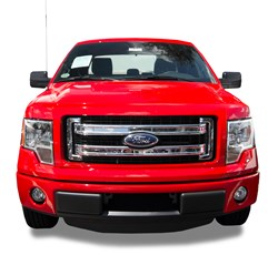 CCI Grille Overlay installed on a 2013 Ford F-150 FX2
