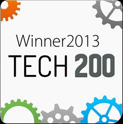 Tech200 award 2013