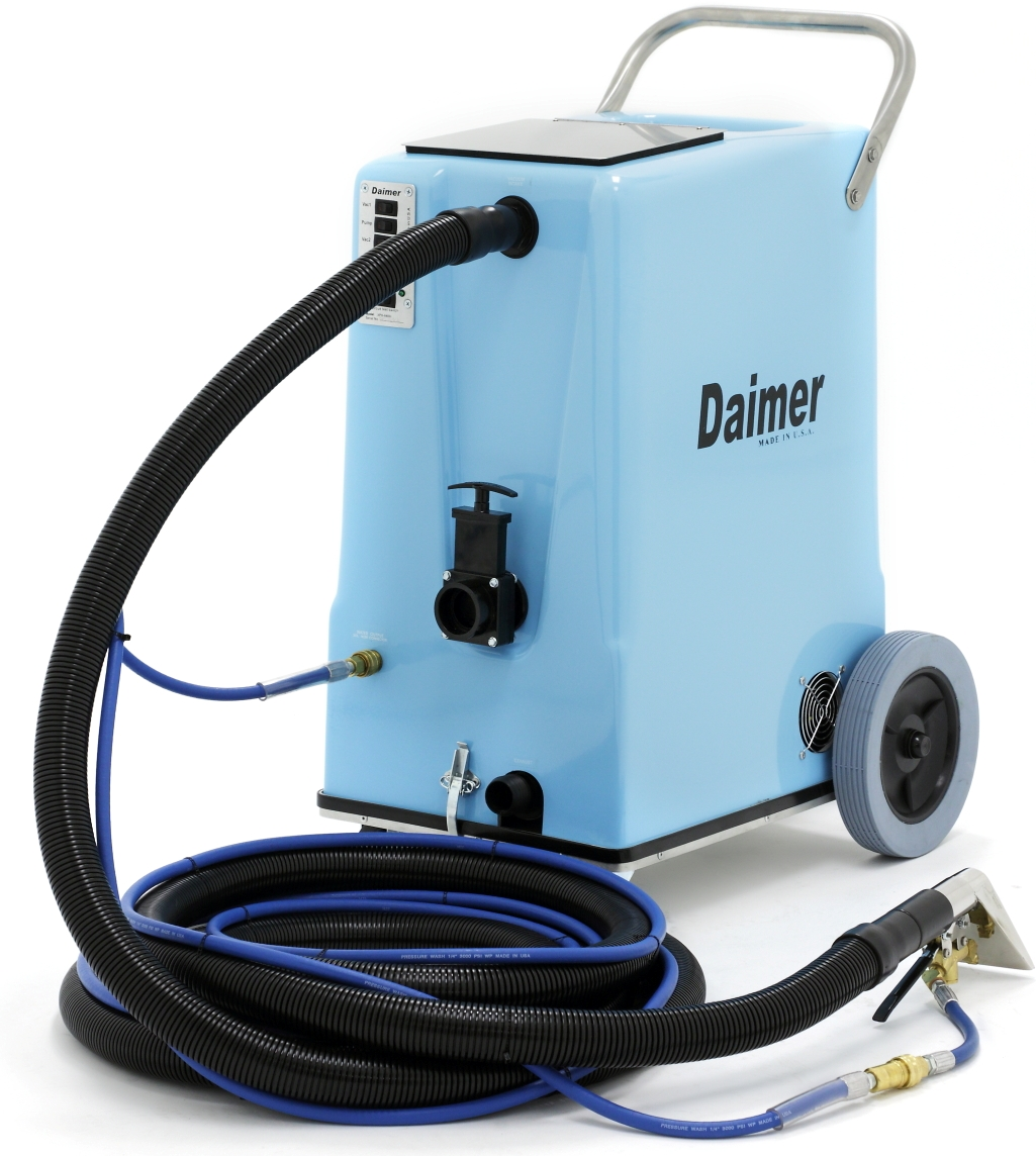 Daimer Ships Powerful Auto Carpet Cleaner Systems