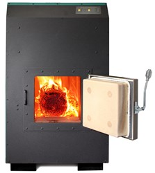 Clean and efficient wood heat with a Greenwood wood boiler