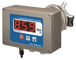 refractometer, Brix, in-line, PLC