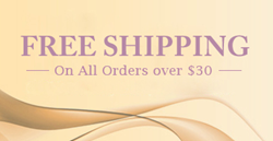 Free Shipping on all orders over $30
