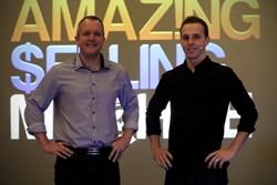 Matt Clark and Jason Katzenback at the Amazing Selling Machine Live Event