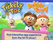 Tickety Toc Bubble Time is the first storybook app based off the hit preschool TV series
