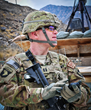 Tactical NAV creator, Capt. Jonathan J. Springer, uses the app during his deployment with the 101st Airborne Division in the Pech Valley, Afghanistan.