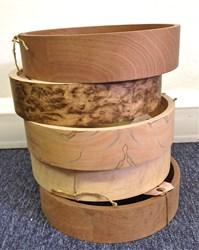 Prototype Shackleton banjo rims