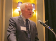 Dan Butler, former CEO of Corporation Service Company, delivers speech after receiving Delaware Business Leaders Hall of Fame induction (photo credit: CSC)