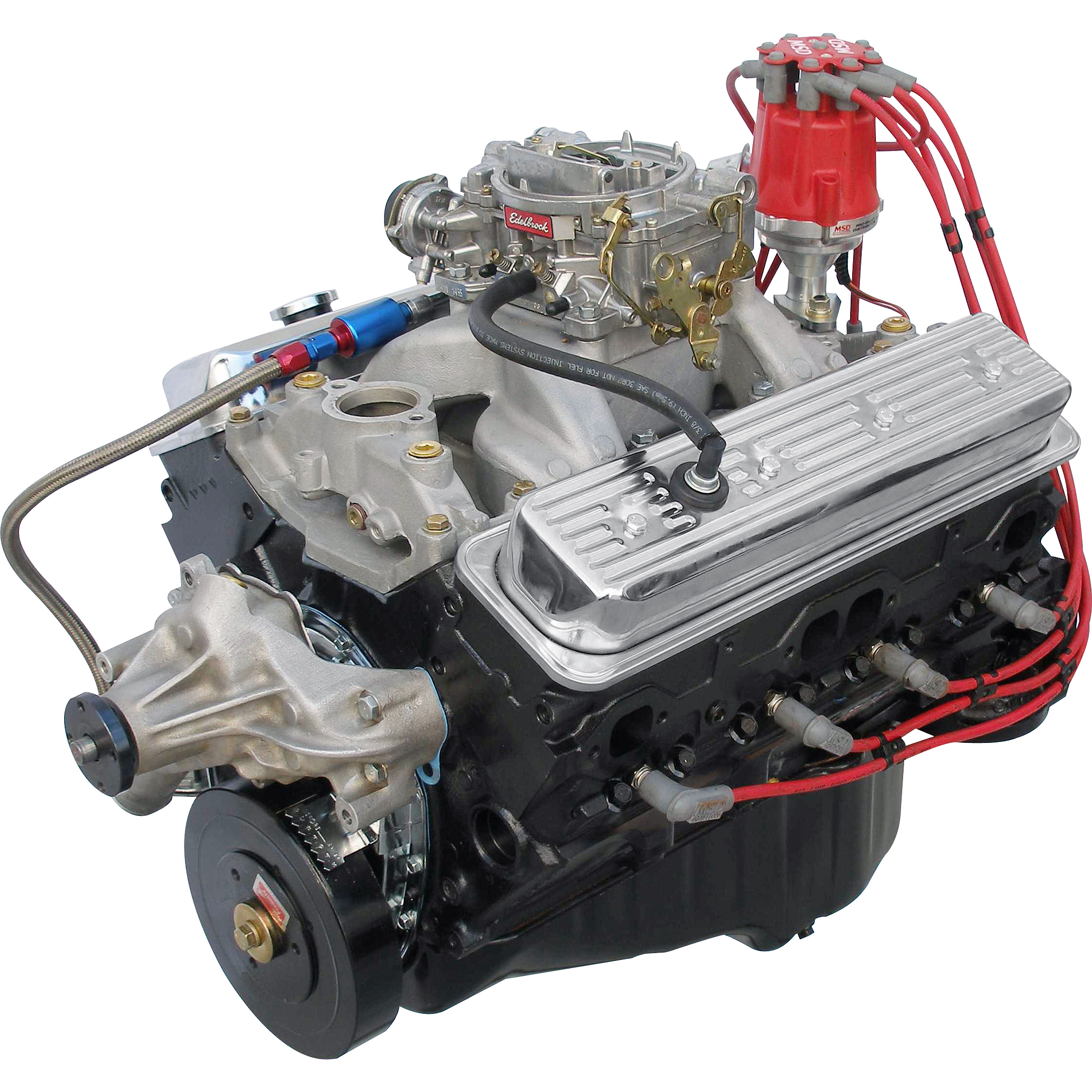Mll Bp Ctc W on Chevy 383 Fuel Injected Crate Engine