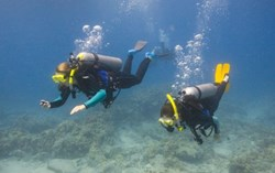 Wilderness Ventures teen summer camps offer scuba diving programs around the world.