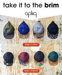 design your own snapback or camper hat