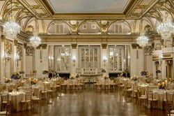 Boston Wedding Grand Ballroom at The Fairmont Copley Plaza