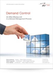 demand control, demand management process, allocation process