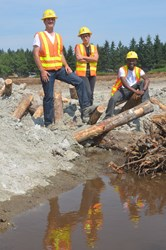 WSDOT members help mitigate environmental impacts on the SR 520 project.