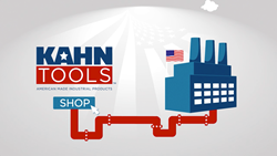 A still image from the Kahn Tools' produced animated video promo.