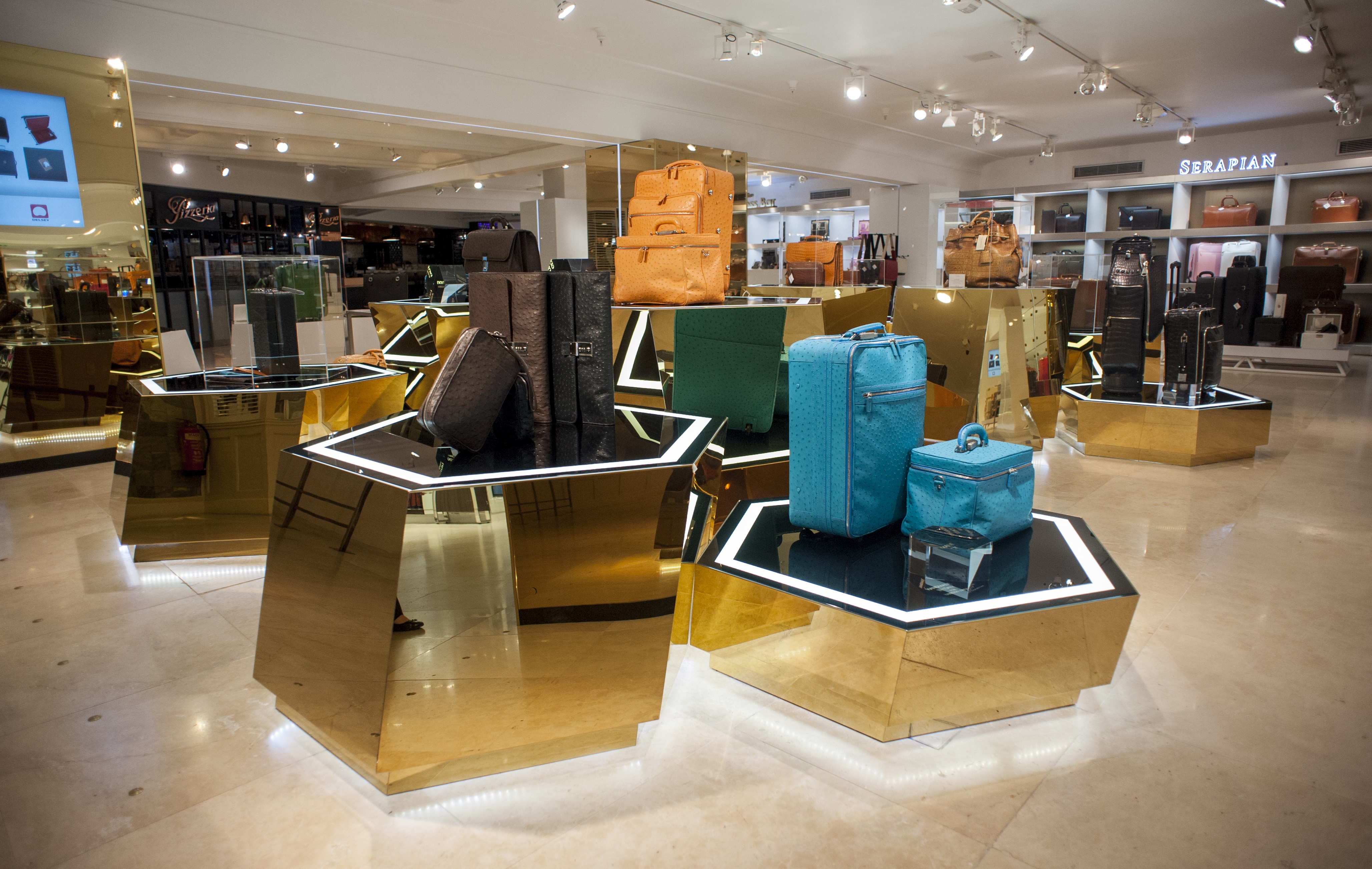 World's Largest Luxury Luggage Department Re-Launched At The World ...