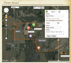 ObsesiveHuntingDisorder.com - Huntin' Area(s) Page