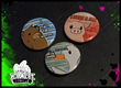 Animal Responsibility Button Pin Collection - By Black Streak Entertainment