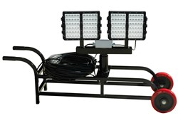 Larson Electronics Releases Portable 600 Watt High Output LED Light Cart for Temporary Lighting