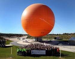 U.S. DOE Solar Decathlon teams gather for group photograph