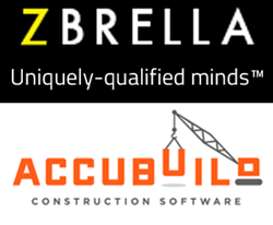ZBRELLA, tech consultant in NYC, becomes first Northeast strategic partner of AccuBuild, developer of construction software.