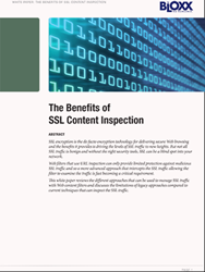 Bloxx SSL content inspection white paper