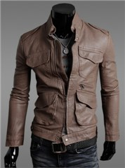 cheap men's leather jackets