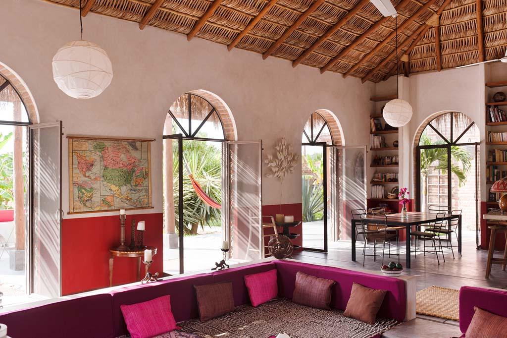 Mexican lifestyle vacation rental casa encanto joins for Casa moderna todos santos