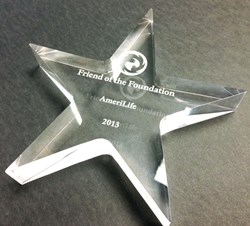 UPARC Awards AmeriLife the Friend of the Foundation Award