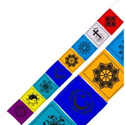 Multifaith Prayer Flag