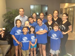 The Harris Dental team with The Boys & Girls Club of Scottsdale