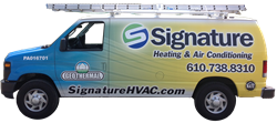 Signature HVAC Service Vehicle